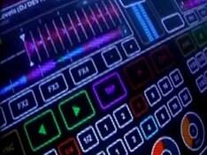 Touchscreen DJ equipment