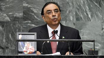 Video : Kashmir a symbol of UN's failure, says Zardari