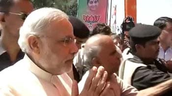 Video : At BJP meet, Narendra Modi's advice is go big on campaign against FDI in retail
