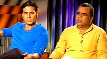 Video : Akshay, Paresh Rawal's take on God and Bollywood