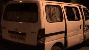 Video : 2nd heist in 24 hours in Delhi; driver of ATM cash van flees with Rs. 51 lakh