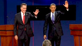 Video : US Presidential Debate: Obama, Romney clash over Obamacare