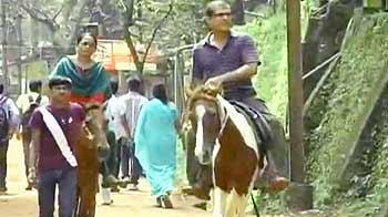 Video : माथेरान : गाड़ियों पर पाबंदी, घोड़े हैं साधन