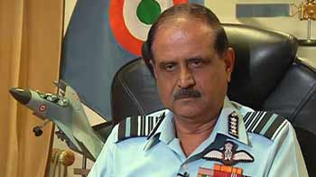 Video : MiG-21s served us well, will be phased out by 2014: Air Chief to NDTV
