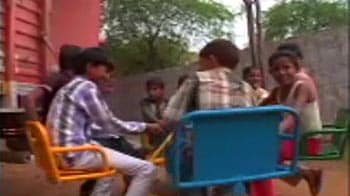 School in Rajasthan's Alwar district upgraded under the NDTV-Coca Cola  Campaign
