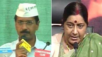 Video : After Gadkari expose, it's Kejriwal vs BJP