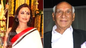 Video : Rani visits Yash Chopra in hospital