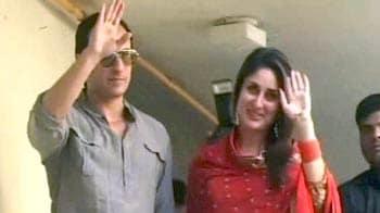 Video : Saif, Kareena's second wedding reception in Delhi tonight