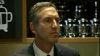 Video : Starbucks eyes significant growth in India: Howard Schultz