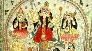 Video : Goddesses in 'kantha' stitch