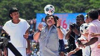 Video : I love India, Kerala: Maradona