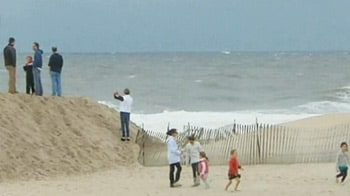 Video : Hurricane Sandy threat puts New York on edge