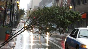 Video : The morning after Superstorm Sandy
