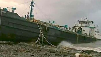 Video : Superstorm Sandy batters US East Coast