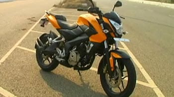 Very capable new Pulsar 200 NS