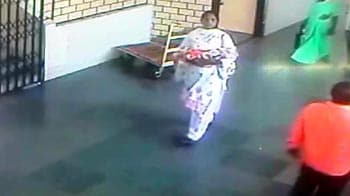 Video : Caught on camera: Woman steals newborn from hospital near Pune