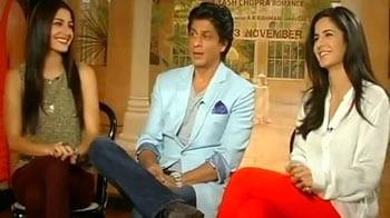 "Video : SRK says he is ""gentle"" with women"