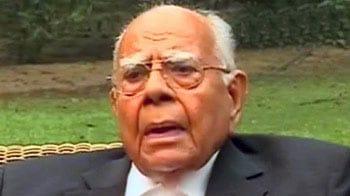 Video : Nitin Gadkari should resign as BJP president immediately, says Ram Jethmalani