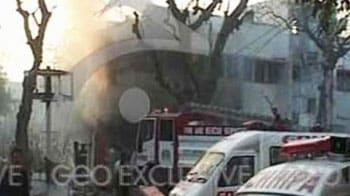 Video : One killed, 13 injured in Karachi blast
