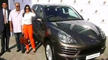 Video : Sridevi gifts Porsche to husband Boney Kapoor