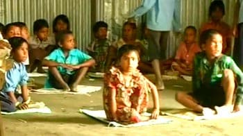 Video : Assam schools resume post floods, sans facilities