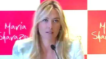 Video : I'm a big fan of the Indian culture: Maria Sharapova