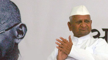 Video : Has Anna Hazare been sidelined?