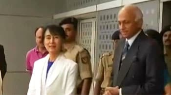Video : Suu Kyi in India after 40 years