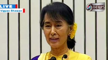 Video : I was saddened that India had moved away from us: Suu Kyi