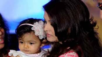 Video : Aaradhya turns 1, Ash says it will be a private affair