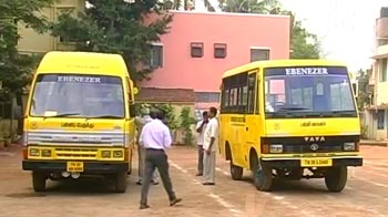 Video : Tamil Nadu school buses on strike today