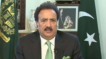 Video : We endorse decision of India's courts on Kasab: Rehman Malik to NDTV