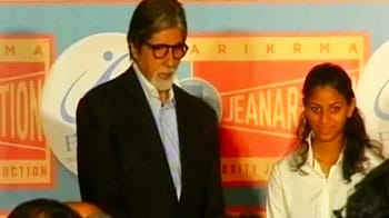 Video : Big B felicitated by Australian government
