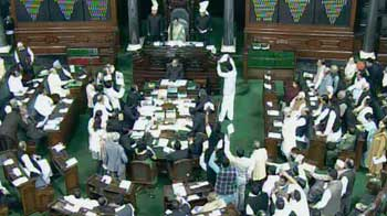 Video : Disruptions over FDI, Lok Sabha adjourned for the day