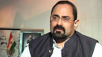 Video : 2G auction a failure of government policies: Rajeev Chandrashekhar