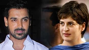 Priyanka Gandhi worthy of sexy person award: John Abraham