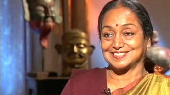 Video : No pressure on me from govt, says Meira Kumar to NDTV