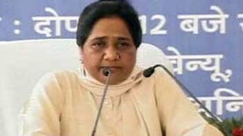 Video : I am opposed to FDI, will reveal stand when vote is held: Mayawati