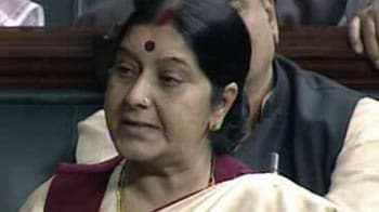 Video : FDI in retail is death knell for small industries: Sushma Swaraj