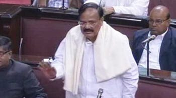 Video : Venkaiah Naidu apologises after woman MP breaks down over his comment