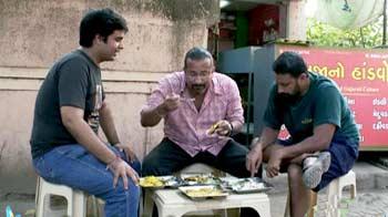 Video : Rocky, Mayur continue their food adventure in Gujarat