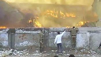 Videos : फरीदाबाद : पेप्सिको के गोदाम में लगी भीषण आग