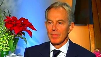 Video : Tony Blair in conversation with NDTV