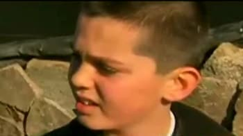 Video : US school shooting: 'we are really happy to be alive'