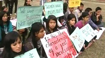 Video : Protests against Manipur actor's molestation spread