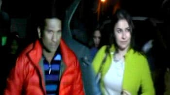 Video : Sachin heads to Mussoorie with family after ODI retirement