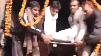 Video : Delhi constable Subhash Tomar cremated with full state honours