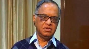 Video : India needs more Ratan Tatas: Narayana Murthy