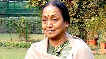 Video : Girl's pain became country's anguish: Lok Sabha speaker Meira Kumar