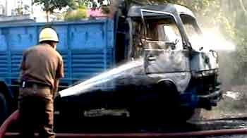Videos : कोलकाता : लेफ्ट और तृणमूल नेताओं में झड़प